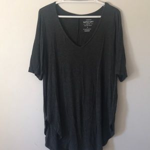 Torrid grey SuperSoft tunic